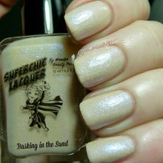 Basking In The Sand Nail Polish  Nude by WonderBeautyProducts, $10.00