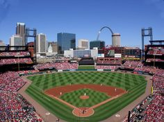 Busch Stadium - Home of the St. Louis Cardinals. Went on our engagement trip. Always be a Cardinal fan...thanks Will!