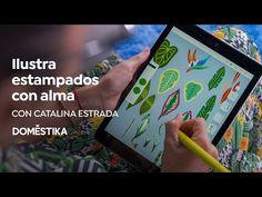 lustración para Estampados con Alma | Un curso de Catalina Estrada | Domestika - YouTube Cata, Youtube, House Art, Youtubers, Youtube Movies