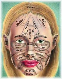 Face Mapping - What is your spots or acne telling you?