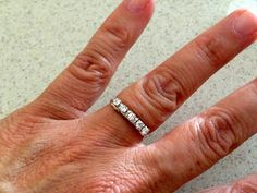 DIY ring with crystal cup chain: Lisa Yang's Jewelry Blog