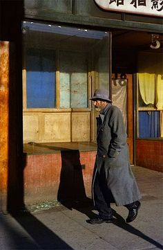 Fred Herzog, Old Man,1959.