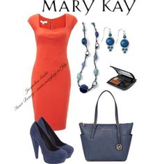 One Word... WOW! Tangerine inspiration from MK!  Inner Beauty~ www.marykay.ca/Jtlg