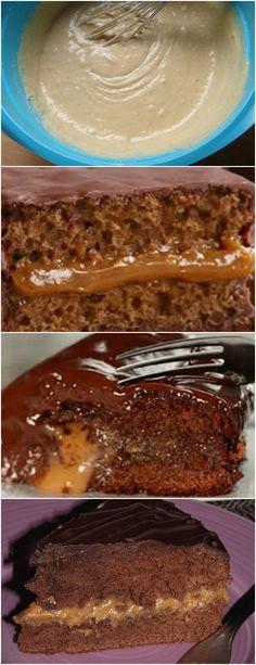 Pão de mel trufado,HUMMM ADORO ️ ❤️ VEJA AQUI>>>Para preparar pão de mel trufado, comece por bater o leite, o leite condensado e o mel no liquidificador. Transfira para uma tigela grande e misture com os restantes ingredientes, previamente peneirados. #receita#bolo#torta#doce#sobremesa#aniversario#pudim#mousse#pave#Cheesecake#chocolate#confeitaria