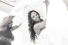 Wedding day joy and great photographer! #MapleHillWeddings #maplehillexperience #makeupin702