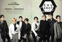 EXO para VIVI Magazine 2016