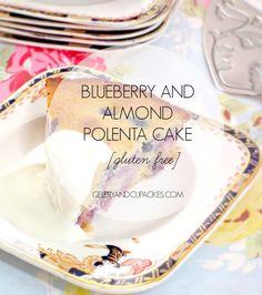 {Recipe} Blueberry and Almond Polenta Cake – gluten free — Celery and Cupcakes Wheat Free Recipes, Sugar Free Recipes, Sweet Recipes, New Recipes, Cooking Recipes, Favorite Recipes, Delicious Cake Recipes, Yummy Cakes, Polenta Cakes