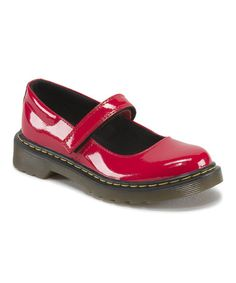 Love this Red Maccy Patent Leather Mary Jane - Kids by Dr. Martens on #zulily! #zulilyfinds