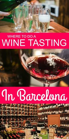 Love wine? Try a wine tasting in Barcelona with our recommendations! Barcelona is home to some of the best wines in Spain-- don't miss the chance to taste them around town!