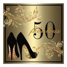 Zapatos del baile - 50.a invitación fabulosa del c