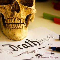 Huesito (Skull) by Mauricio Burgos, via Behance