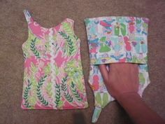 Shift DressShaped Pot Holder M/W Lilly Pulitzer by LilDipperAHH, $15.00