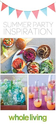 14 Hassle-Free Summer Party Ideas, Wholeliving.com