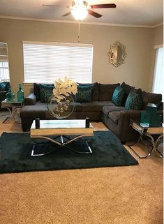 Browse stylish brown living room decor inspiration, furniture and accessories on Jbirdny. Elegant Living Room, Cozy Living Rooms, New Living Room, My New Room, Apartment Living, Home And Living, Living Room Furniture, Living Room Decor, Bedroom Decor