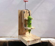 DIY Drill Press #woodworkingtools