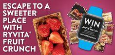 Win an Apple Watch - Ryvita #FruitCrunch Competition