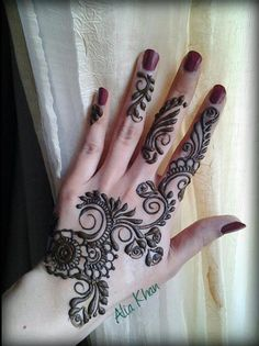 #henna #hand #mehendi #hand #pretty