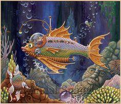 """Admiral Ladnar's Mechanical Mackerel,"" by Randal Spangler"