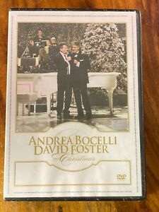 Andrea Bocelli David Foster My Christmas Dvd 2009 In 2020 Christmas Dvd The Fosters My Ebay