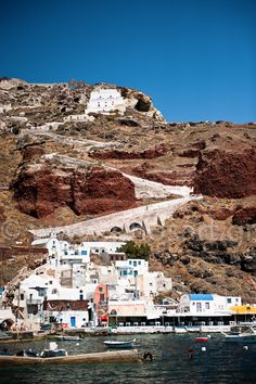 Ammoudi Bay, Oia village, Santorini island, Greece. - selected by www.oiamansion.com