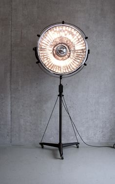 1950s XL hospital surgery lamp from germany