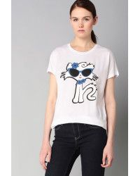 Karl Lagerfeld | Short Sleeve Top |  Lyst