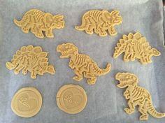 Dino cookies :)