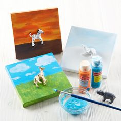 - Halloween Crafts For Toddlers Easy - - Painting Crafts For Kids Canvas - Spring Crafts For Kids Videos Nature Cool Art Projects, Craft Projects For Kids, Easy Crafts For Kids, Creative Crafts, Diy For Kids, Quick Crafts, Diy Projects, Creative Play, Sand Crafts