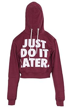Womens Addicted Crop Top Hoodie Crop Top Hoodie, Just Do It, Hoodies, Sweatshirts, Fashion Brands, Addiction, Crop Tops, Clothing, Sweaters