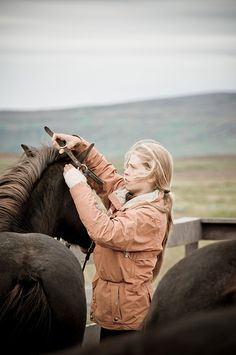 horseback riding in Iceland - Character inspiration #writing #nanowrimo #blonde Even though I hate horse stories.