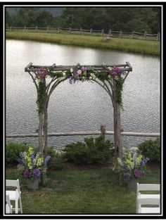 Wooden Wedding Trellis | ... to the newlyweds on what sounds like a dream wedding day