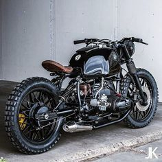 Killer BMW R80 from @Arjan van den Boomen of Ironwood Custom Motorcycles in Amsterdam.  The stance and detailing leave us breathless.  Shot by @Jackson Kunis. Visit www.iwcmotorcycle... for more.  #bmwmotorcycles #bmwmotorrad #r80 #MakeLifeARide #caferacerxxx #caferacer #scrambler #bobber #caferacersofinstagram #bikeexif