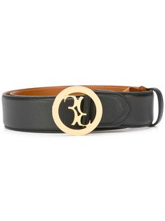 Billionaire Logo Buckle Belt In Black Black Belt, Billionaire, Brand You, Belt Buckles, Calf Leather, Calves, Women Wear, Mens Fashion, Gold