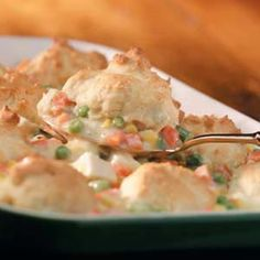 Easy Chicken Potpie My 6 year old made this (with help). It turned out very good! ~S.M.