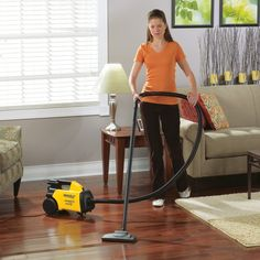 This is the BEST vacuum for hard wood floors or tiled floors! Best vacuum for pet hair too! Light weight, long cord, long handle easily reaches under furniture. By far the best vacuum I've ever owned (Best Kitchen Cleaner) Best Hardwood Floor Vacuum, Hardwood Floor Care, Canister Vacuum Reviews, Best Canister Vacuum, Best Small Vacuum Cleaner, Best Vacuum, Bagless Vacuum Cleaner, Vacuum Cleaners, Eureka Vacuum