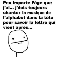 Moi lol discovered by - امال - on We Heart It French Meme, Funny Jokes, Hilarious, Troll Face, Rage Comics, How To Speak French, Derp, Funny Moments, Funny Things