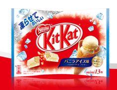 Nestle KitKat Vanilla Ice Cream Flavor