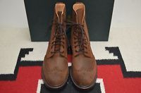 Crockett & Jones Made in England Islay Roughcut Suede Leather Ankle Boots
