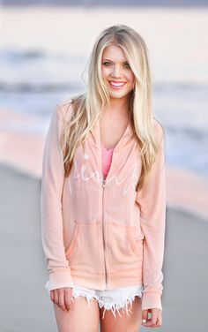 Blogger Lauren Henno from Golden White Decor rocking the bralette under a hoodie http://www.goldenwhitedecor.com/