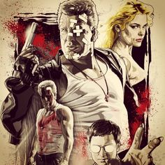 J2 productionz loves this sin city fan art moor poster! See more great movie fan art on our blog http://www.j2productionz.com/blog