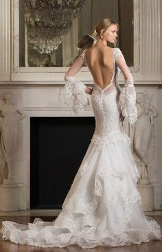 Featured Dress: Pnina Tornai; Wedding dress idea.