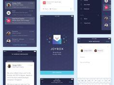 IOS Mail App Freebie on UI Space