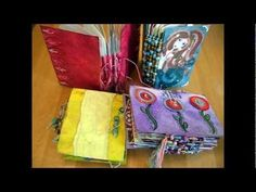 Video > How to Make an art journal from recycling greeting cards - Jennibellie