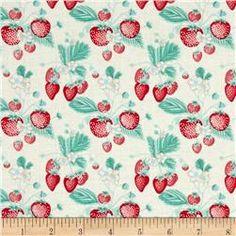 Penny Rose Shabby Strawberry Main Cream