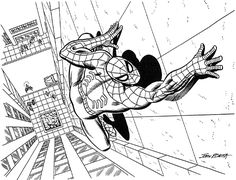 john romita sr spider man - Google Search