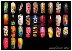 Nail Art 1 by ~Jessi9999 on deviantART