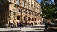 GRANADA | CENTRO | ALHAMBRA. Palacio de Carlos V, calle Real de la Alhambra. 1/4