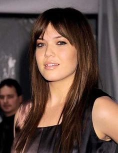 20 Hairstyles with Long Bangs