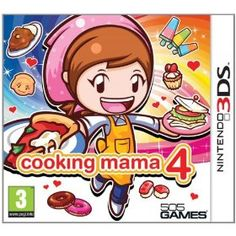 Shop for Cooking Mama 4 (nintendo Starting from Choose from the 3 best options & compare live & historic console video game prices. Nintendo 3ds Games, Wii, Mama Cooking, Handheld Video Games, Game Prices, Video Game Collection, Kitchen Magic, Xbox One Console, Gamers