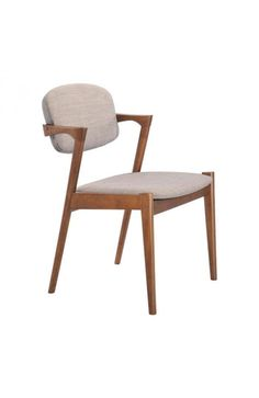 Brickell Dining Chair Dove Gray - 100113Description :Slender shapes and clean lines in rubberwood define the Brickell Chair's comfort and look. With textured polyblend fabric, this chair gives a warm look to any contmporary space. It is a great piece of designFeatures:-Color :Dove GrayProduct Cover (Upholstery Material or Type of Metal) :Linen PolyblendProduct Finish (Structure Materiel or Type of Wood) :RubberwoodDimensions :Dining Chair : 20.3